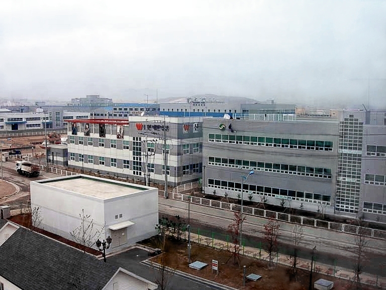 The Kaesong Industrial Complex, via Wikimedia Commons